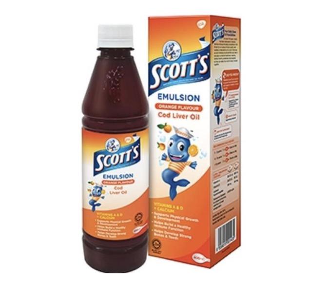 5. ยี่ห้อ Scott's Emulsion Cod Liver Oil
