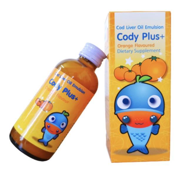 4. ยี่ห้อ Cody Plus Cod Liver Oil