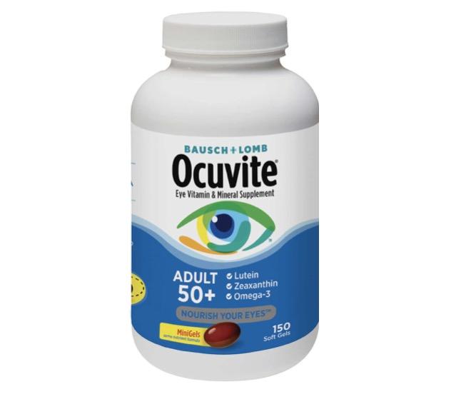3. วิตามินบำรุงสายตา ยี่ห้อ Bausch & Lomb Ocuvite