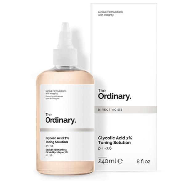 7. รีวิว The Ordinary, Glycolic Acid 7% Toning Solution