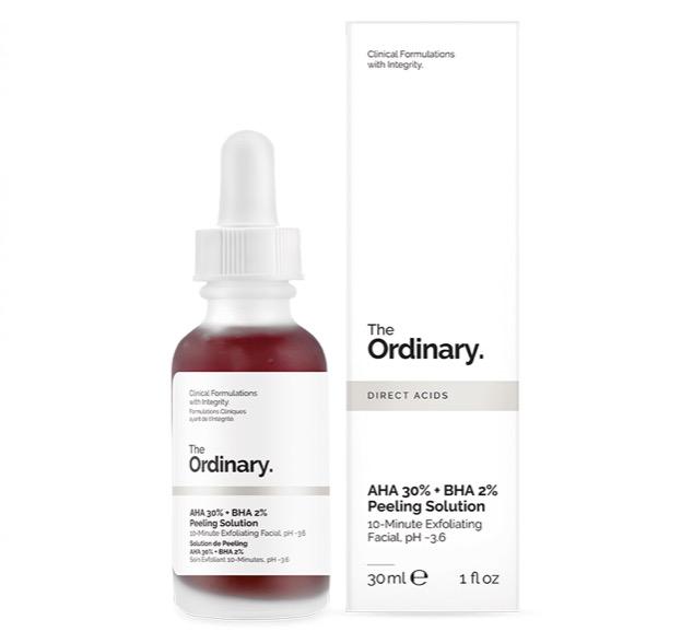 8. รีวิว The Ordinary, AHA 30% + BHA 2% Peeling Solution