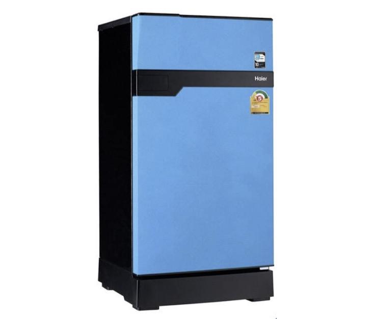 8. ยี่ห้อ Haier ตู้เย็นเล็กประตูเดียว Muse series รุ่น HR-CEQ15