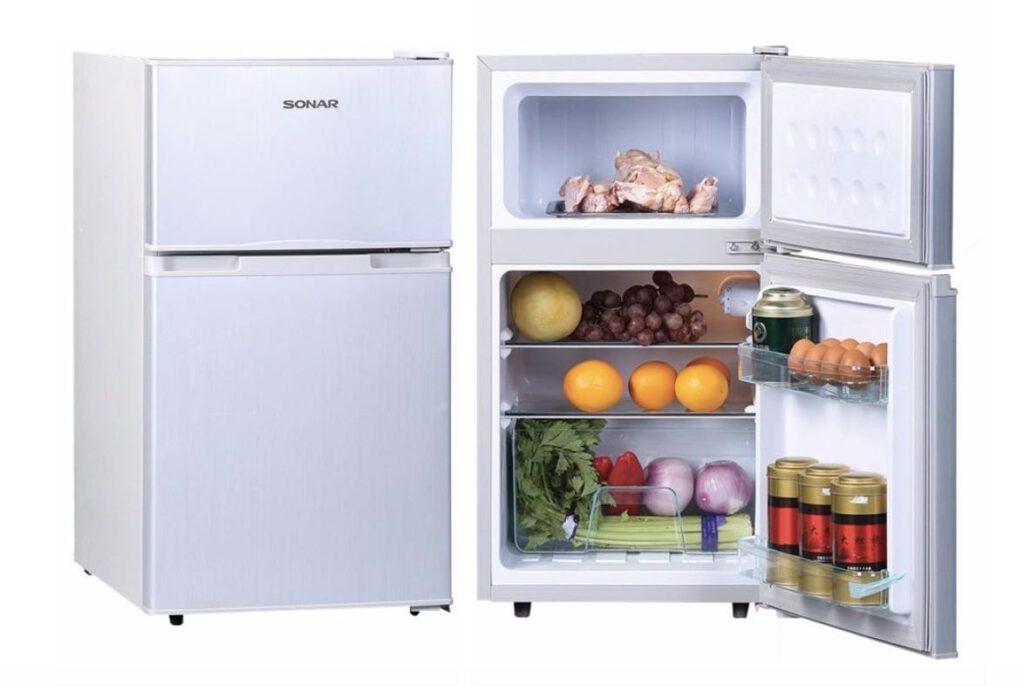 9. ยี่ห้อ Sonar ตู้เย็นเล็ก 2 ประตู รุ่น RD-H95N