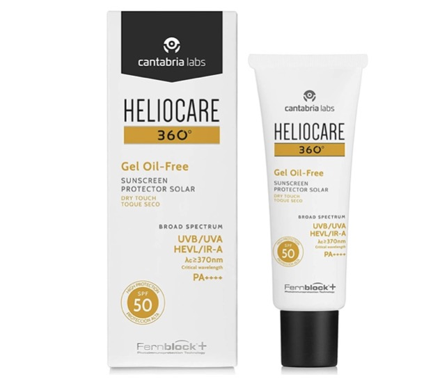 5. ครีมกันแดดคนเป็นสิว ยี่ห้อ Heliocare 360 Gel Oil-Free SPF50
