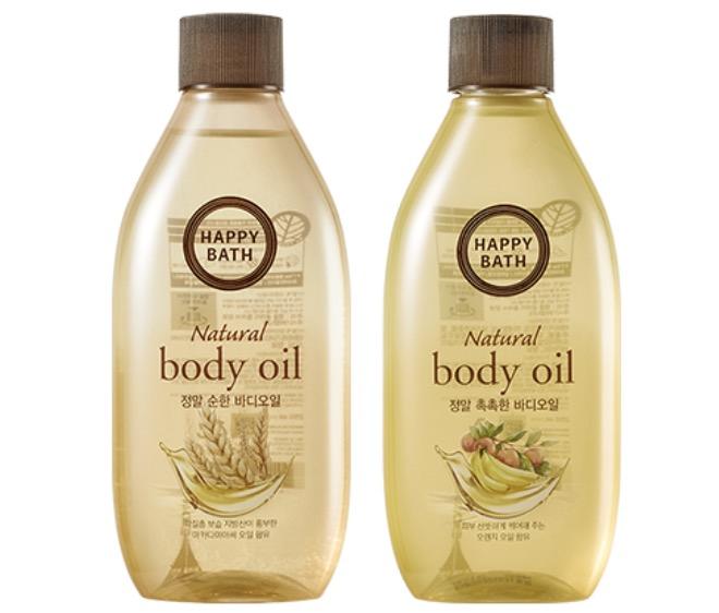 10. ออยทาผิวเกาหลี ยี่ห้อ HAPPY BATH Body Oil
