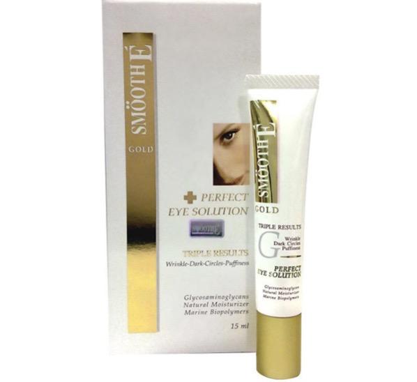 9. ยี่ห้อ SMOOTH E Gold Perfect Eye Solution