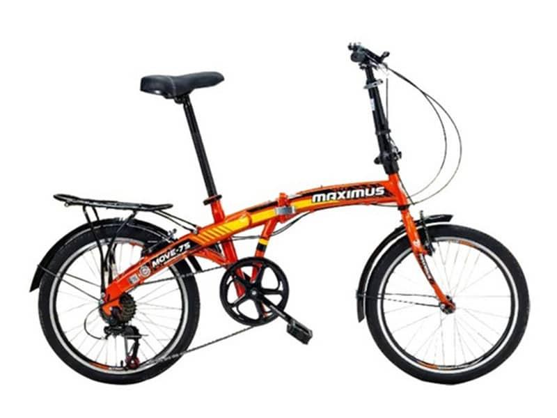 2. จักรยานพับได้ 20 นิ้ว ยี่ห้อ Maximus รุ่น MOVE-7S