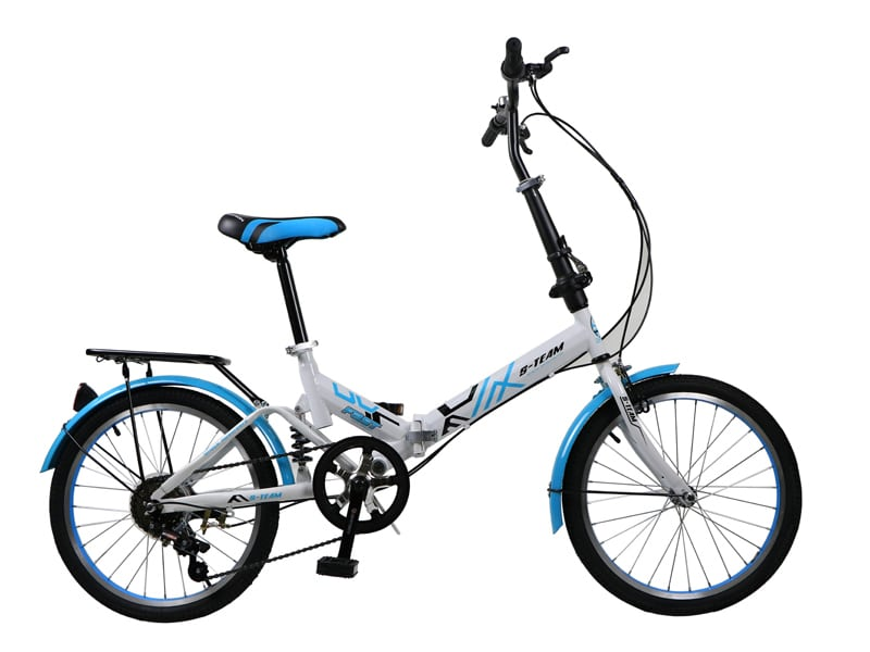 8. จักรยานพับได้ ยี่ห้อ S-Team