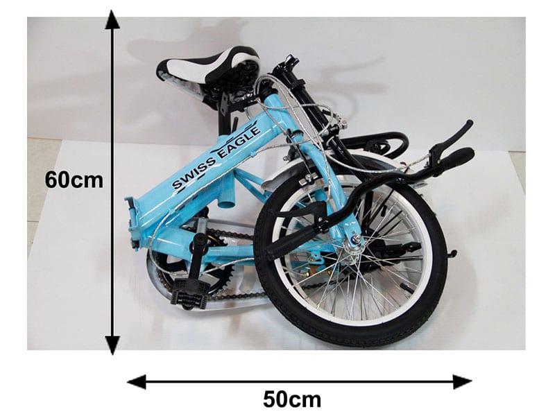 จักรยานพับได้ SWISS EAGLE BIKE รุ่น 16G