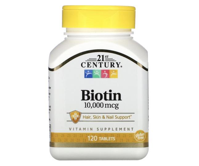 1. ไบโอติน ยี่ห้อ 21st Century Biotin