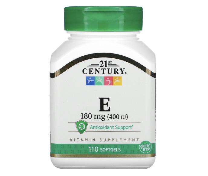 2. วิตามินอี ยี่ห้อ 21st Century, Vitamin E