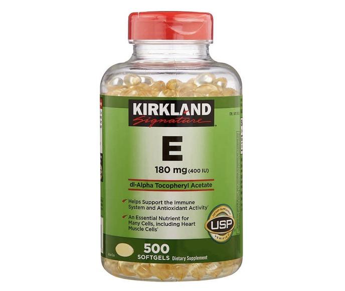 ขอแนะนำยี่ห้อ + Kirkland Signature Vitamin E +