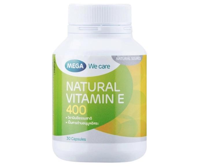 7. วิตามินอี ยี่ห้อ Mega We Care Natural Vitamin E