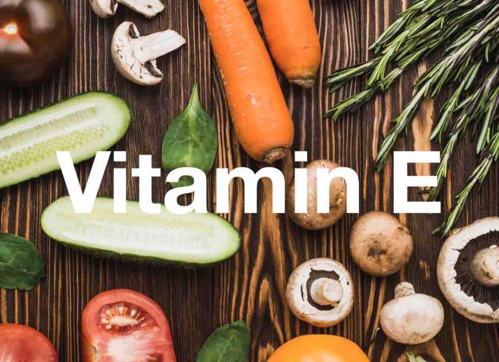 ประโยชน์ของวิตามินอี Vitamin E