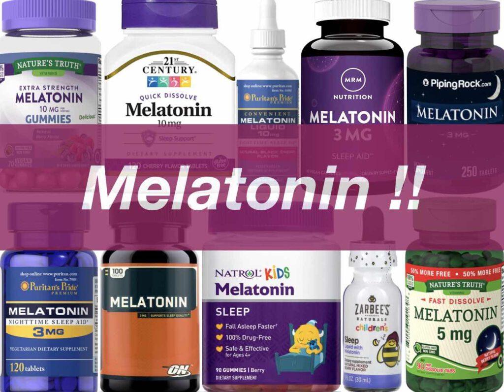 """+ """"เมลาโทนิน"""" (Melatonin) ยี่ห้อไหนดี 2021 รีวิว 10 ยี่ห้อ +"""