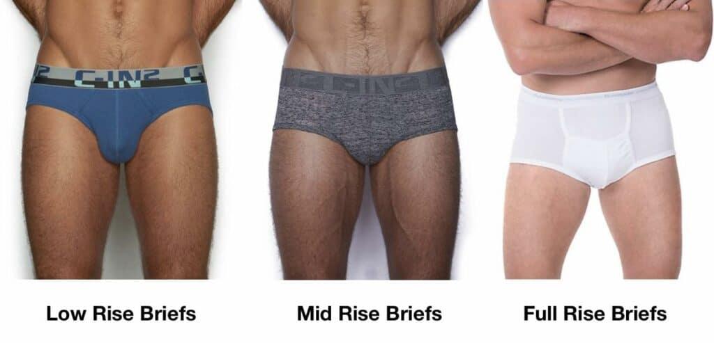 กางเกงในผู้ชายทรง Brief