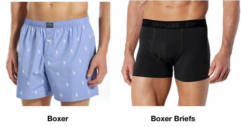 กางเกงในผู้ชายทรง Boxer และ Boxer Briefs