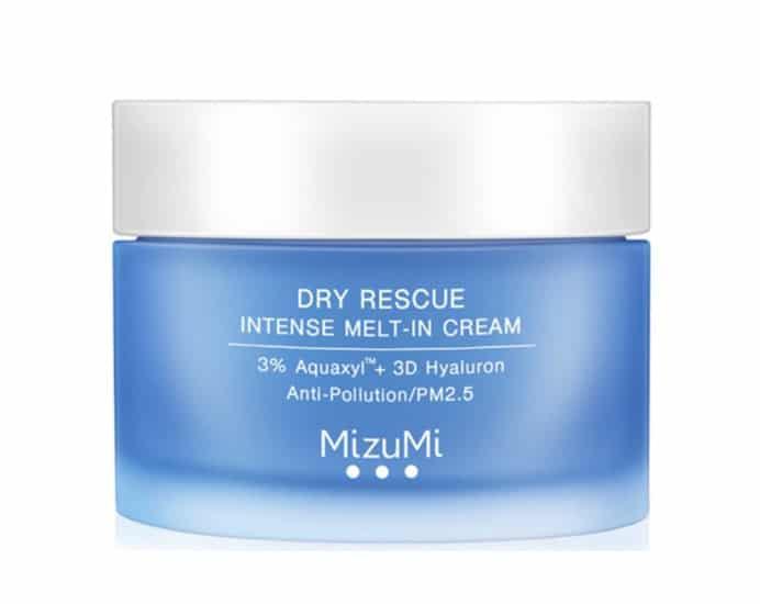 2. ครีมกลางวัน ยี่ห้อ MizuMi Dry Rescue Intense Melt-In Cream