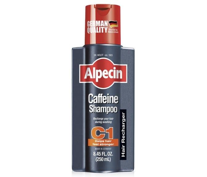1. แชมพูลดผมร่วง ยี่ห้อ Alpecin Caffeine Shampoo C1