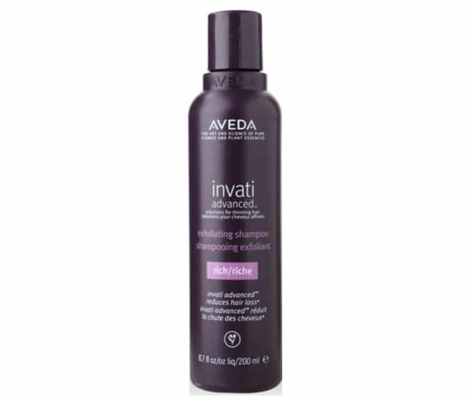 3. แชมพูลดผมร่วง ยี่ห้อ Aveda Invati Advanced Exfoliating Rich Shampoo