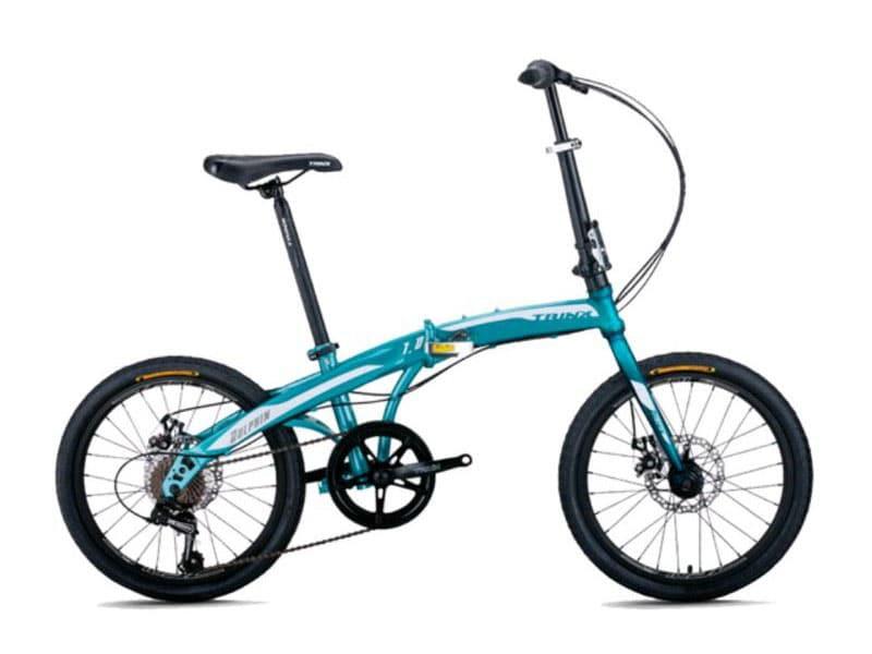 1. จักรยานพับได้ 20 นิ้ว ยี่ห้อ TRINX รุ่น DOLPHIN 1.0