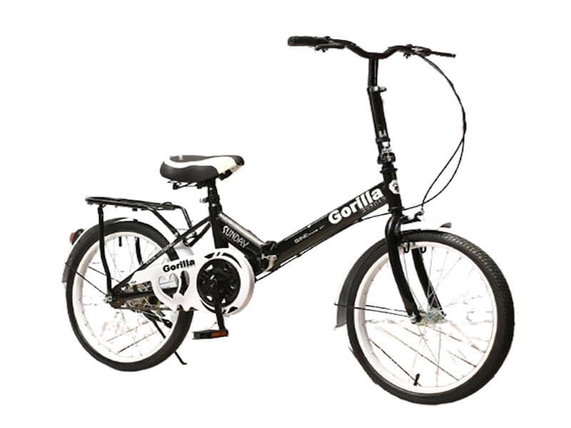 7. จักรยานพับได้ ยี่ห้อ Gorilla รุ่น SUNDAY