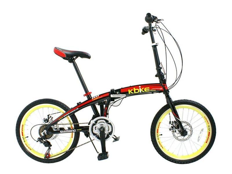 3. จักรยานพับได้ ยี่ห้อ K-BIKE รุ่น COOPER 20KA2115