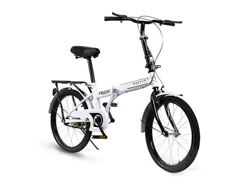 4. จักรยานพับได้ ยี่ห้อ RAKELO รุ่น Folding Bike