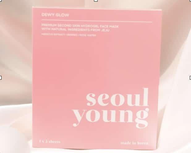 1. มาร์คเกาหลี ยี่ห้อ Seoulyoung Premium Second Skin Hydrogel Face Mask