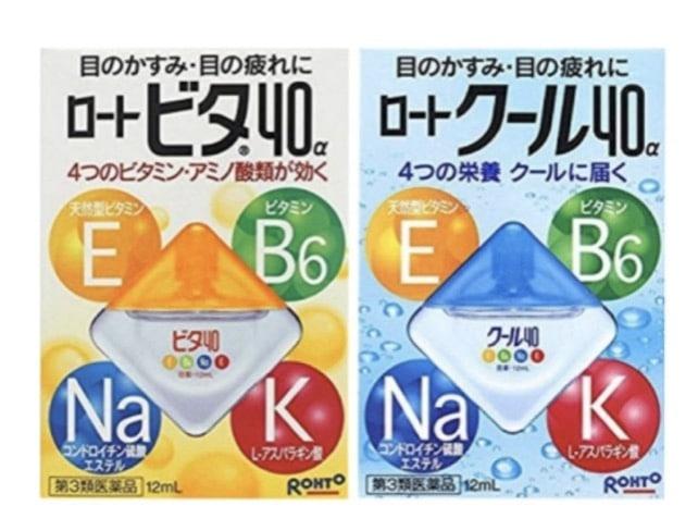 4. น้ำตาเทียมญี่ปุ่น ยี่ห้อ Rohto cool