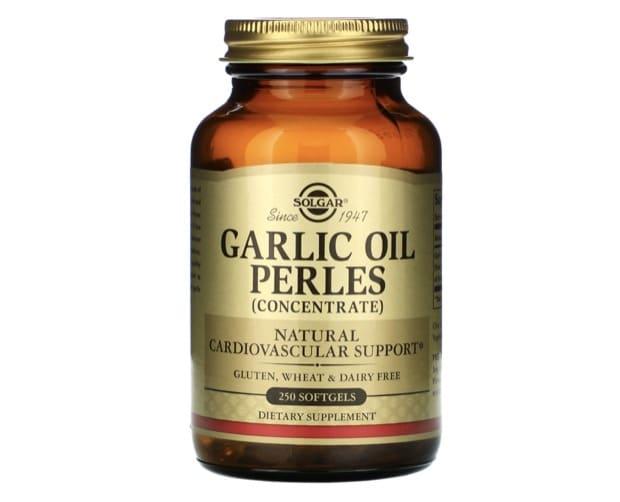7. ยี่ห้อ Solgar Garlic Oil Perles
