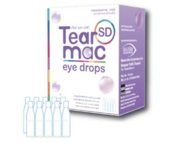 9. น้ำตาเทียม ยี่ห้อ Tear Mac SD