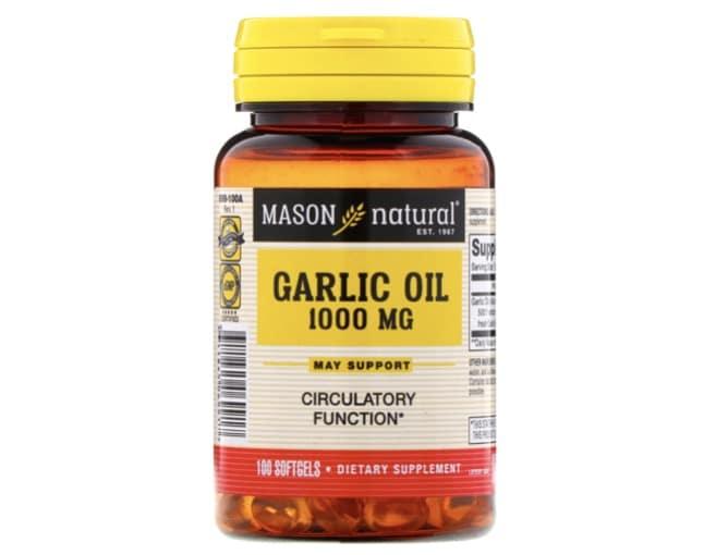 3. ยี่ห้อ Mason Natural Garlic Oil