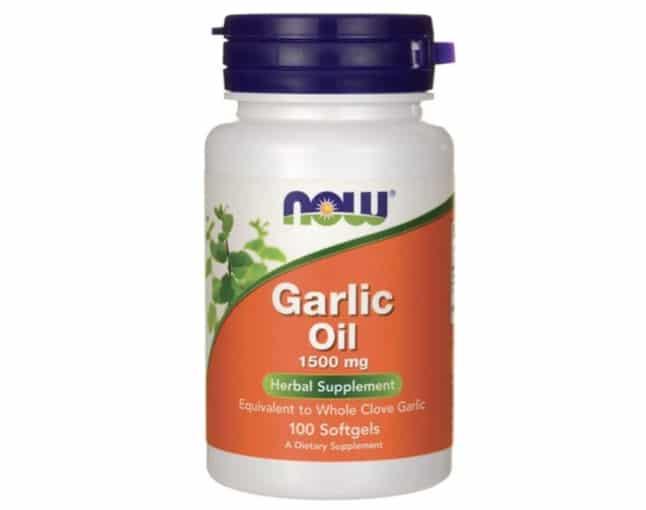 4. ยี่ห้อ Now Foods Garlic Oil