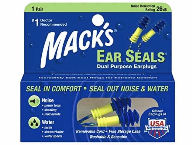 4. เอียปลั๊ก ยี่ห้อ Mack's Ear Seals