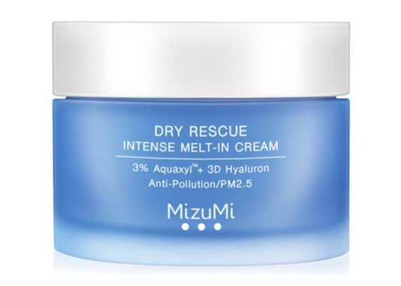 1. Moisturizer ยี่ห้อ MizuMi Dry Rescue Intense Melt-In Cream