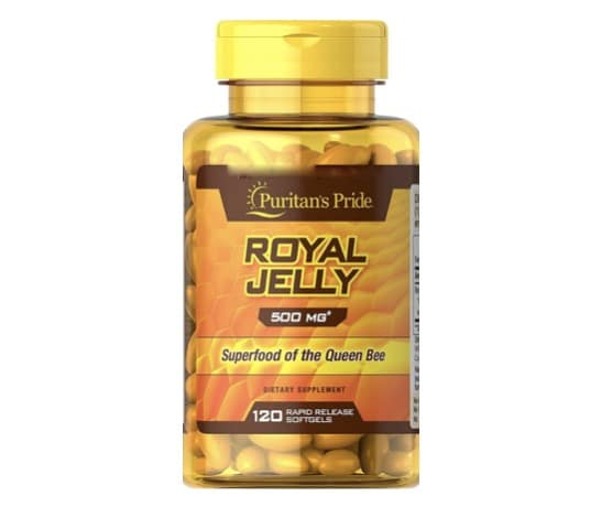 4. อาหารเสริมนมผึ้ง ยี่ห้อ Puritan's Pride Royal Jelly