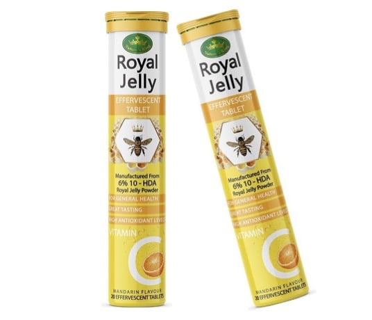 3. ยี่ห้อ Nature King's Royal Jelly แบบเม็ดฟู่