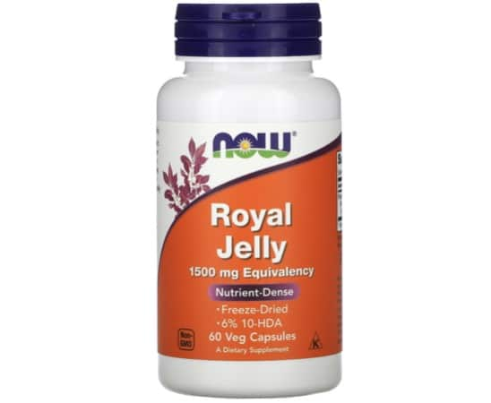 9. ยี่ห้อ Now Foods Royal Jelly