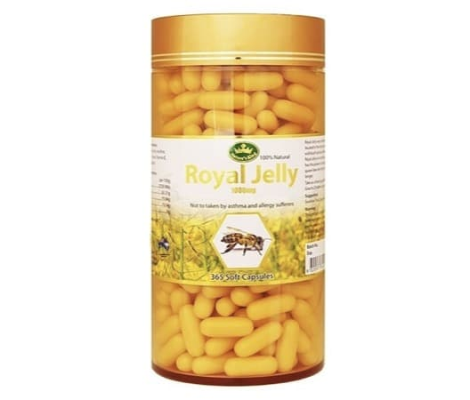 6. อาหารเสริมนมผึ้ง ยี่ห้อ Nature's King Royal Jelly