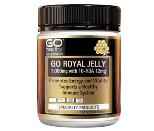 7. ยี่ห้อ Go Healthy Royal Jelly