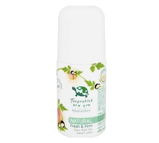 5. โรลออน รักแร้ขาว ระงับกลิ่น ยี่ห้อ Taoyeablok new gen Natural Fresh & Firm Deo Roll On