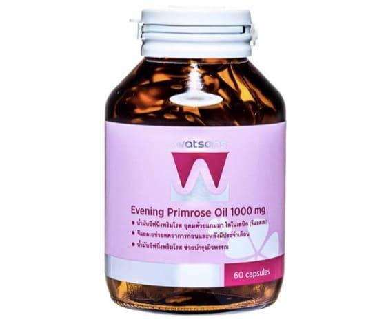 6. อีฟนิ่งพริมโรส ยี่ห้อ Watsons Evening Primrose Oil