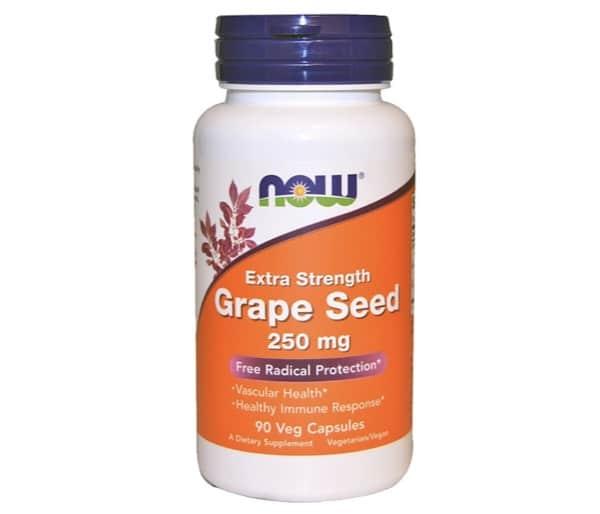10. เกรปซีด ยี่ห้อ Now Foods Grape Seed
