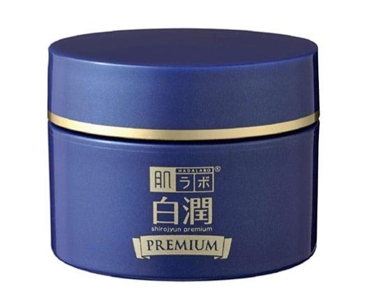 ทำยังไงให้ขาว ก็ใช้ครีมหน้าขาวยี่ห้อ Hada Labo Shirojyun Premium Deep Whitening Cream ดูสิค่ะ