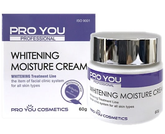 7. ครีมหน้าขาวเกาหลี ยี่ห้อ Proyou Whitening Moisture Cream