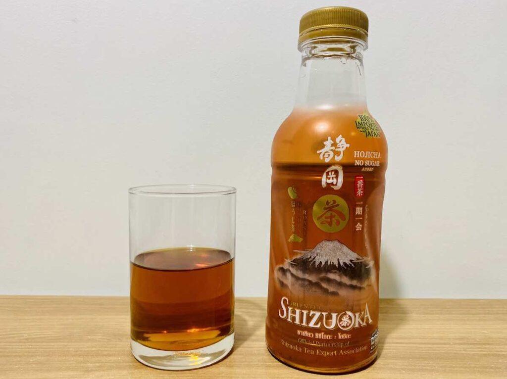 2. ชาเขียวพร้อมดื่ม ยี่ห้อ SHIZUOKA รส HOJICHA
