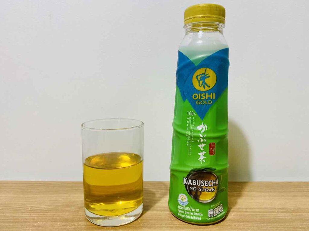 5. ชาเขียว ขวด ยี่ห้อ OISHI GOLD รส Kabusecha