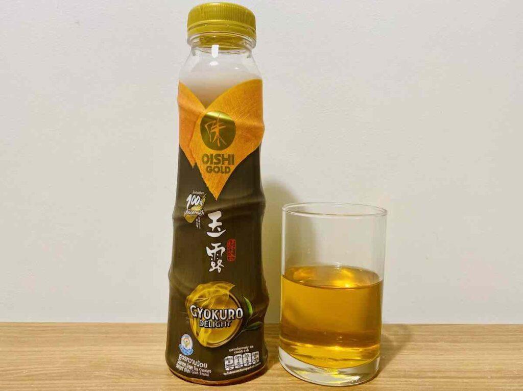 6. ชาเขียวพร้อมดื่ม ยี่ห้อ OISHI GOLD รส Gyokuro