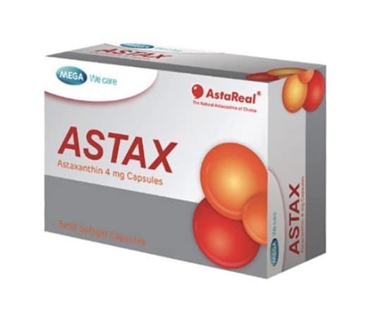 9. แอสตาแซนธิน ยี่ห้อ MEGA Astax